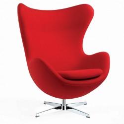 Кресло Эгг (красный) Группа СДМ
