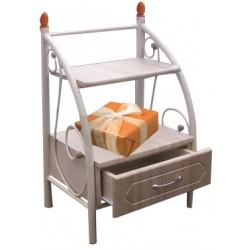 Тумба прикроватная (ящик) Металл-Дизайн