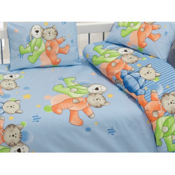 Постельное белье Dus v2 Mavi Class Bahar Tekstil