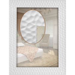 Зеркало Art-com Sahara Белый