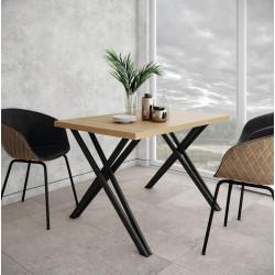 Стол Бруно 120 Металл-Дизайн Лофт