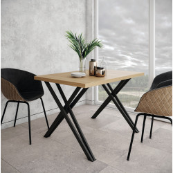 Стол Бруно 140 Металл-Дизайн Лофт