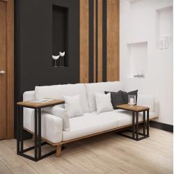 Стол журнальный Кофе Брейк 2 в 1 Металл-Дизайн Лофт