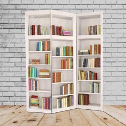 Ширма Кантри 180х135 Стеллаж с книгами