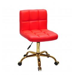 Кресло Onder Mebli Арно GD-Office Экокожа Красный 1007