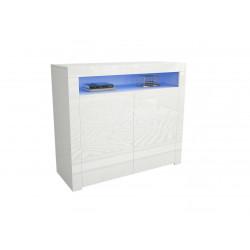 Комод Mex 108 белый/белый глянец GF Furniture
