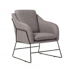 Кресло Дарио (серый) Vetro Mebel