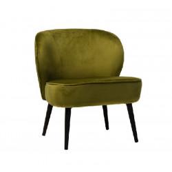 Кресло Фабио (вельвет зеленый чай) Vetro Mebel