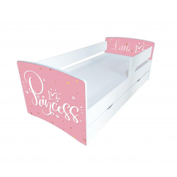 Кровать с ящиком Viorina-Deko Kinder Cool 07 Принцесса
