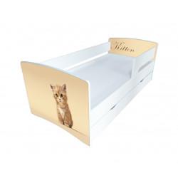 Кровать с ящиком Viorina-Deko Kinder Cool 08 Котенок