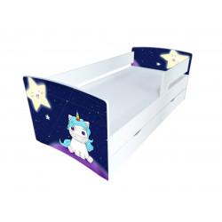 Кровать с ящиком Viorina-Deko Kinder Cool 13 Звезды