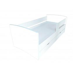 Детская кровать с ящиком Viorina-Deko Kinder Cool Белая