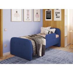 Дитяча м'яке ліжко з бортиком Viorina-Deko Teddy 02 Синій
