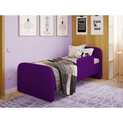 Дитяча м'яке ліжко з бортиком Viorina-Deko Teddy 02 Фіолетовий