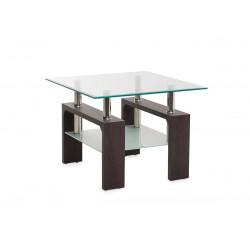 Журнальний стіл С-106 (венге) Vetro Mebel