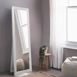 Зеркало прямоугольное напольное Art-com Чикаго Белый