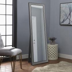 Зеркало прямоугольное напольное Art-com Чикаго Черно-белый