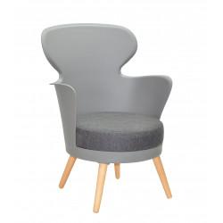 Крісло Onder Mebli Office Armin Сірий 16