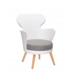 Крісло Onder Mebli Office Armin Білий 07
