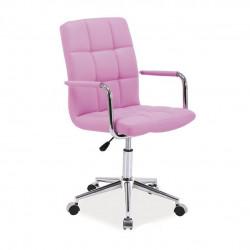 Кресло Q-022 розовый кожзам Signal