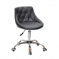 Кресло Onder Mebli Foro+Button CH-Office ЭкоКожа Черный