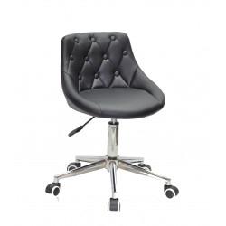 Кресло Onder Mebli Foro+Button Modern Office ЭкоКожа Черный