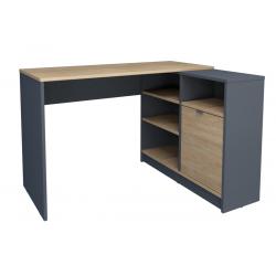 Стол письменный угловой Optima R 120х91,8 Intarsio