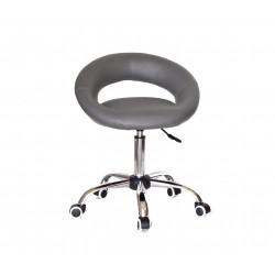 Кресло офисное Onder Mebli Holy BK-Office ЭкоКожа Серый 1001