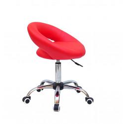 Кресло офисное Onder Mebli Holy BK-Office ЭкоКожа Красный 1007