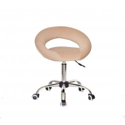 Кресло офисное Onder Mebli Holy BK-Office Бархат Бежевый B-1005