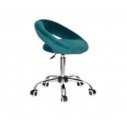 Крісло офісне Onder Mebli Holy BK-Office Оксамит Сірий B-1003