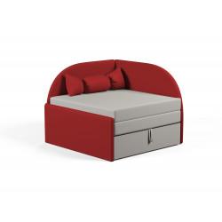 Детский диванчик Viorina-Deko Малютка 02 Красный