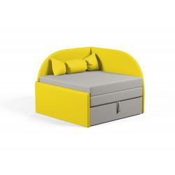 Детский диванчик Viorina-Deko Малютка 06 Желтый