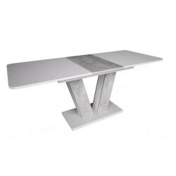 Стіл обідній Torino 140-180 біла аляска/индастриал Intarsio