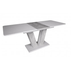 Стол обеденный Torino 140-180 белая аляска/индастриал Intarsio