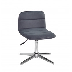 Кресло для салона красоты Onder Mebli Real CH-Base Бархат Серый В-1004