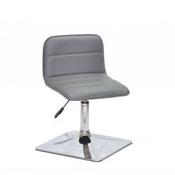 Крісло для салону краси Onder Mebli Real 4 CH-Base Екошкіра Сірий 1001