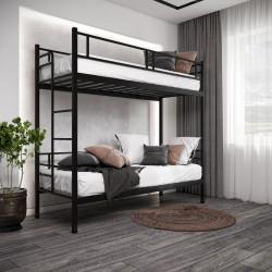 Ліжко двох'ярусне Дабл Метал-дизайн