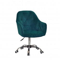 Крісло офісне Onder Mebli Mario CH-Office Зелений B-1003