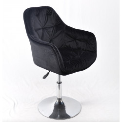 Крісло офісне Onder Mebli Mario CH-Office Чорний B-1011