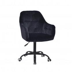 Крісло офісне Onder Mebli Mario BK-Office Чорний B-1011