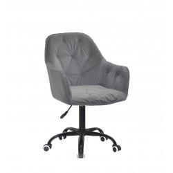 Крісло офісне Onder Mebli Mario BK-Office Сірий B-1004