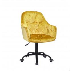 Крісло офісне Onder Mebli Mario BK-Office Жовтий Y-10