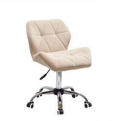 Крісло офісне Onder Mebli Paris CH-Office Оксамит Бежевий В-1005