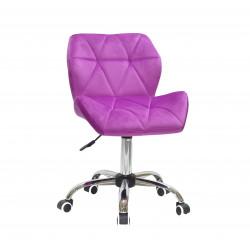 Крісло офісне Onder Mebli Paris CH-Office Оксамит Бузоковий В-1022