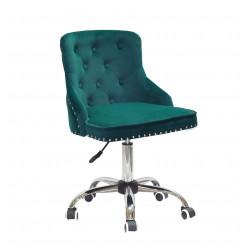Кресло Onder Mebli Olimp CH-Office Бархат Зеленый В-1003