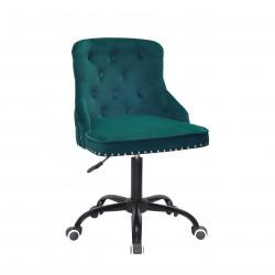 Кресло Onder Mebli Olimp BK-Office Бархат Зеленый В-1003