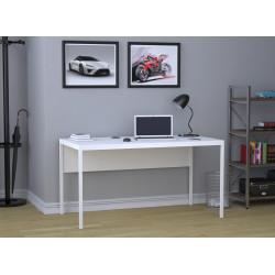Стол письменный белый L-3p Loft design