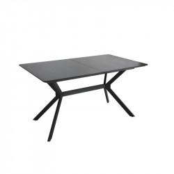Стол обеденный Vetro Mebel TM-95 черный