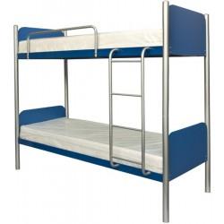Кровать металлическая двухъярусная Арлекино Металл-Дизайн